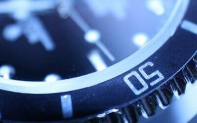 ticking clock depicting ransomware