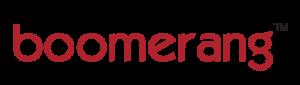 A logo for Boomerang