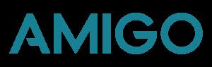 A logo for Amigo