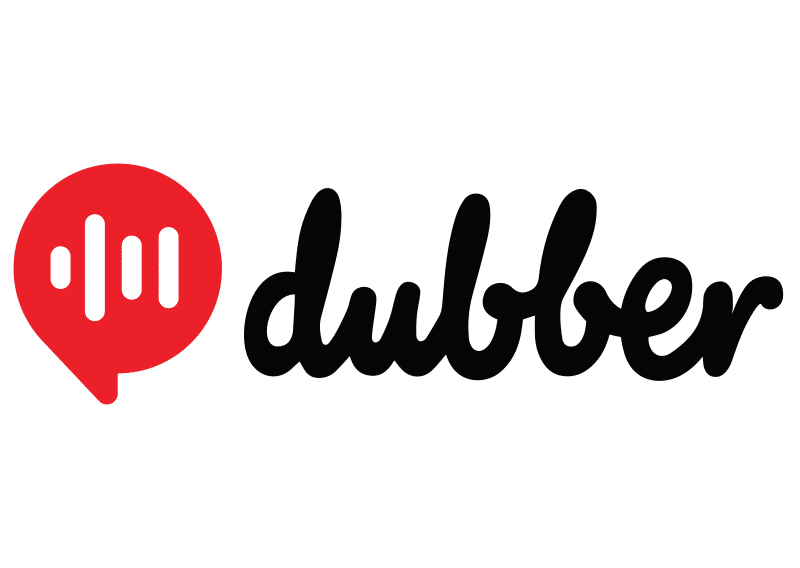 A logo for Dubber